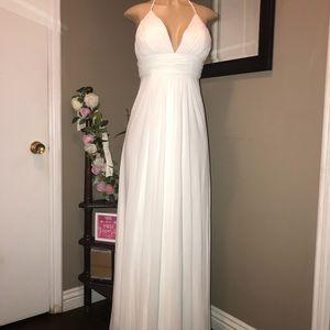 Amelia Couture white dress